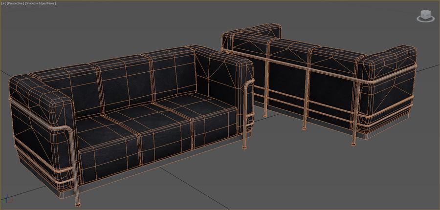 Colección de muebles de oficina royalty-free modelo 3d - Preview no. 76