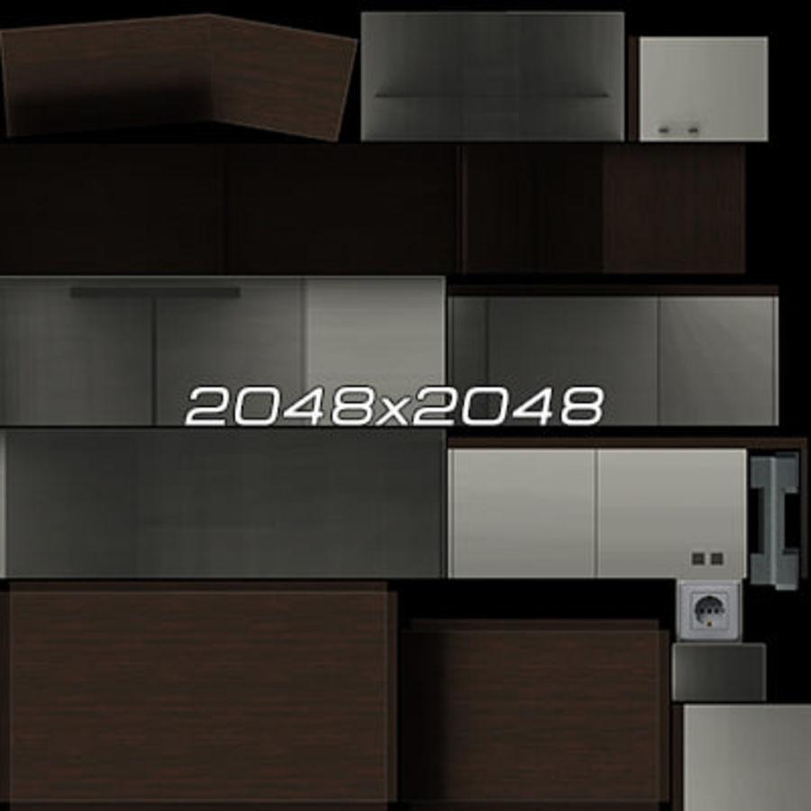 Colección de muebles de oficina royalty-free modelo 3d - Preview no. 98