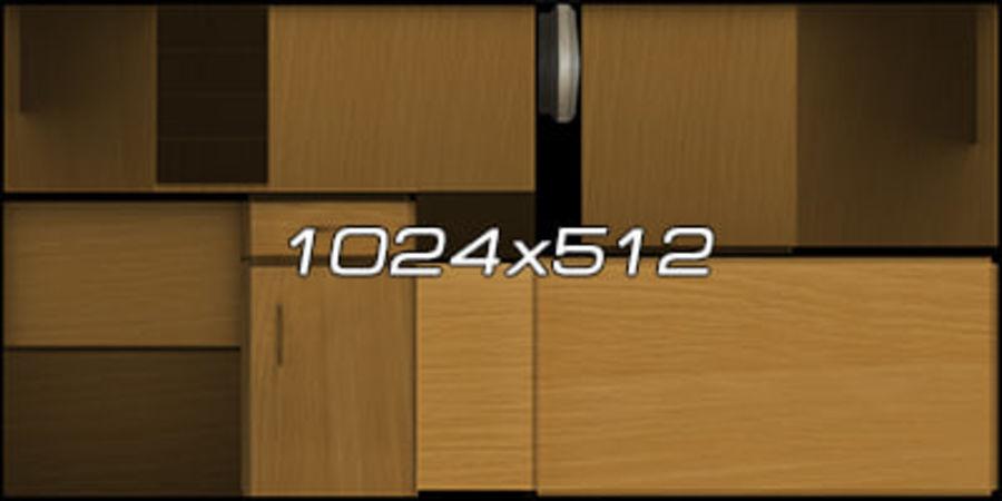 Colección de muebles de oficina royalty-free modelo 3d - Preview no. 50