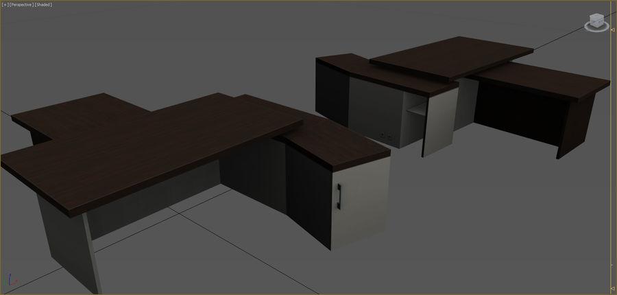 Colección de muebles de oficina royalty-free modelo 3d - Preview no. 96