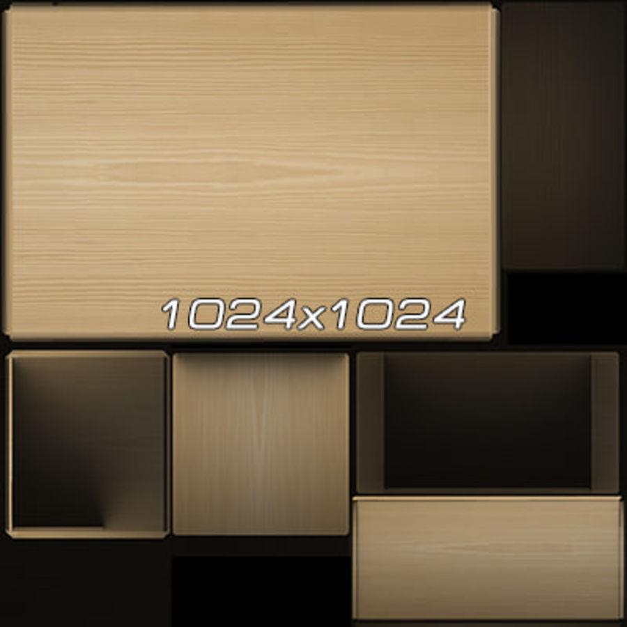 Colección de muebles de oficina royalty-free modelo 3d - Preview no. 47