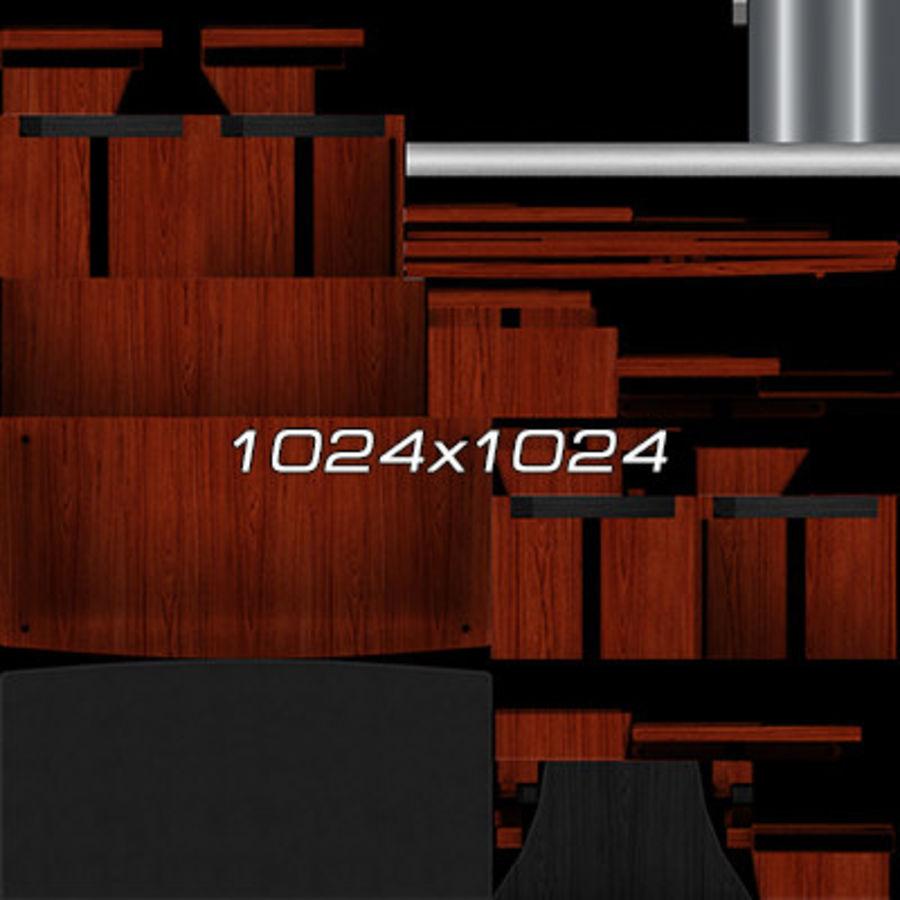 Colección de muebles de oficina royalty-free modelo 3d - Preview no. 56