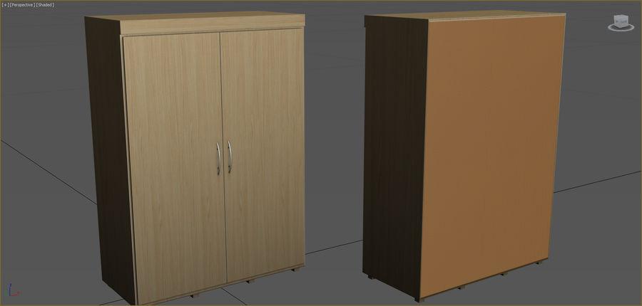 Colección de muebles de oficina royalty-free modelo 3d - Preview no. 105