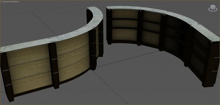Colección de muebles de oficina royalty-free modelo 3d - Preview no. 72