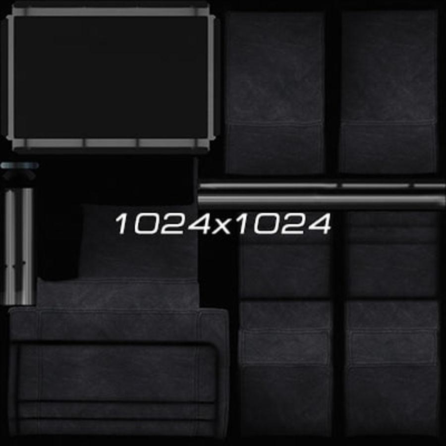 Colección de muebles de oficina royalty-free modelo 3d - Preview no. 77