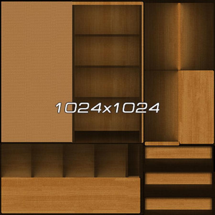 Colección de muebles de oficina royalty-free modelo 3d - Preview no. 12