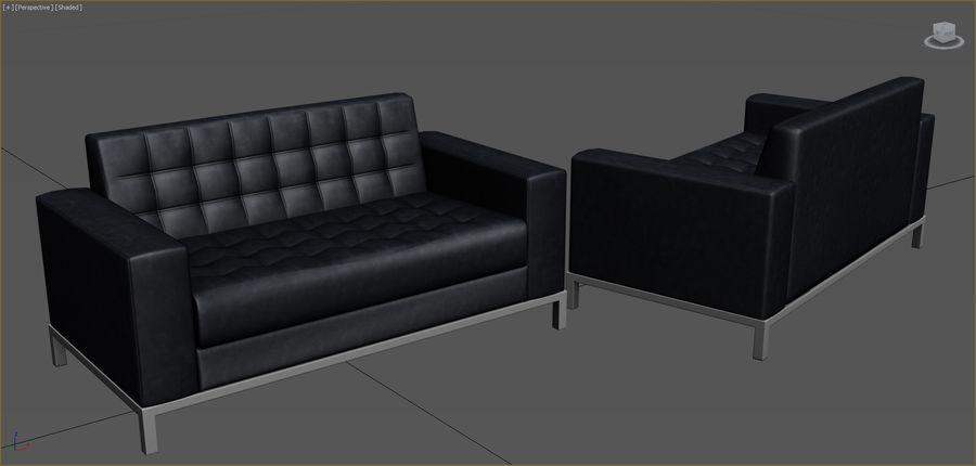 Colección de muebles de oficina royalty-free modelo 3d - Preview no. 78