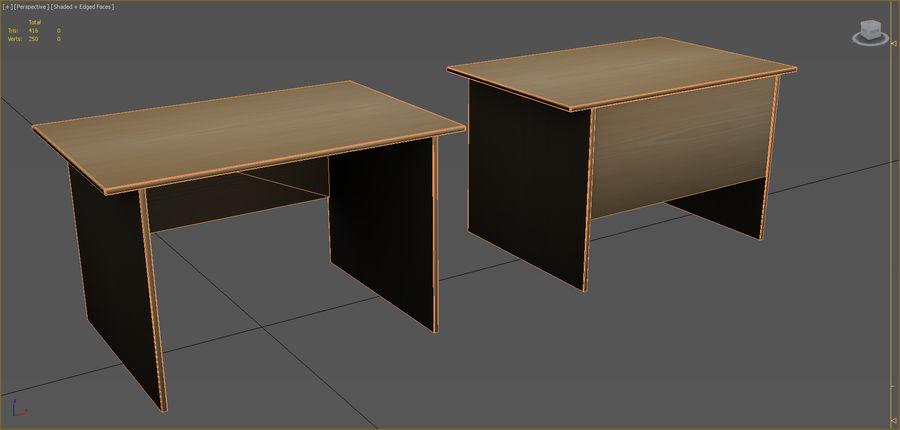 Colección de muebles de oficina royalty-free modelo 3d - Preview no. 46