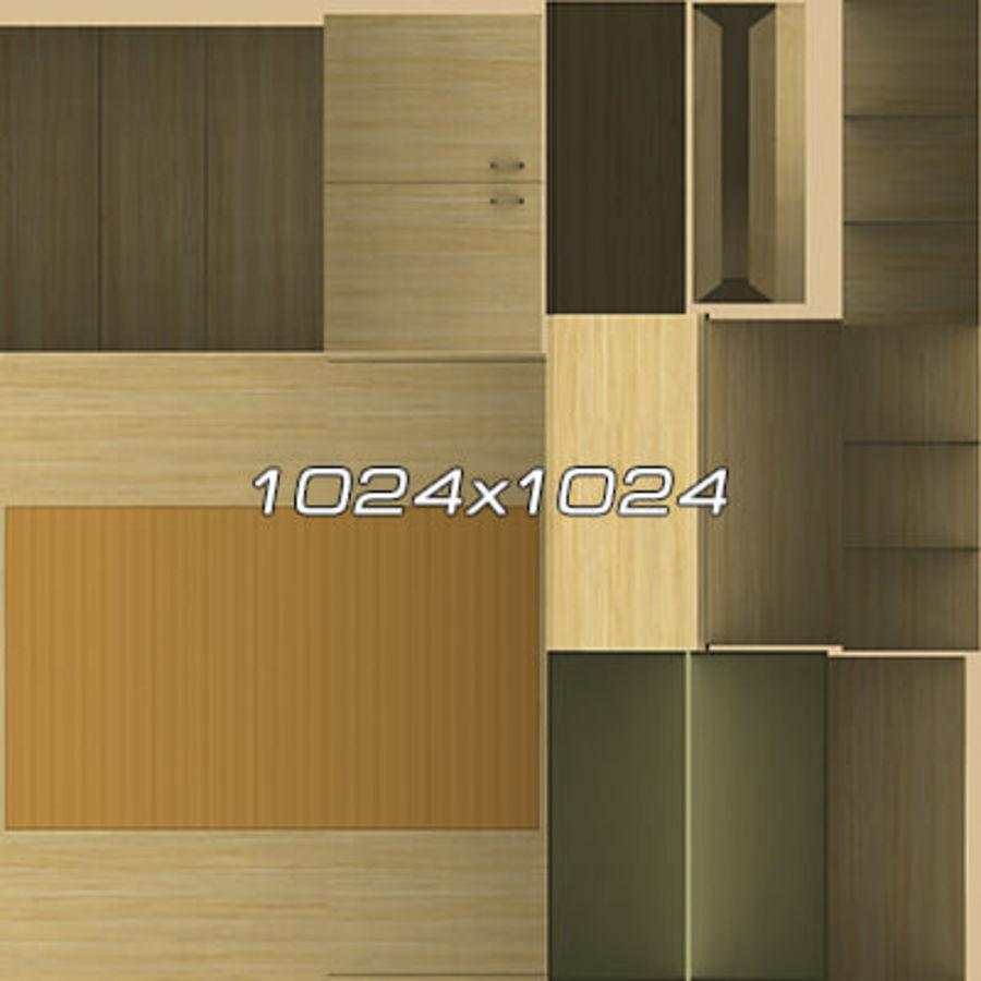 Colección de muebles de oficina royalty-free modelo 3d - Preview no. 24