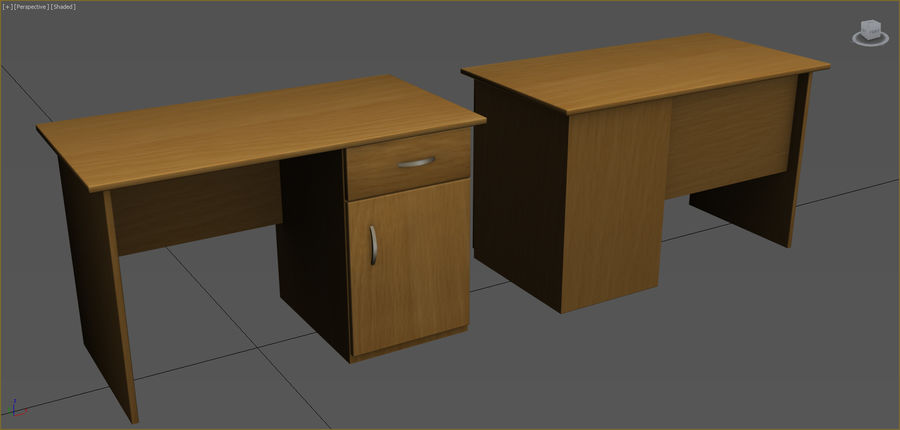 Colección de muebles de oficina royalty-free modelo 3d - Preview no. 48