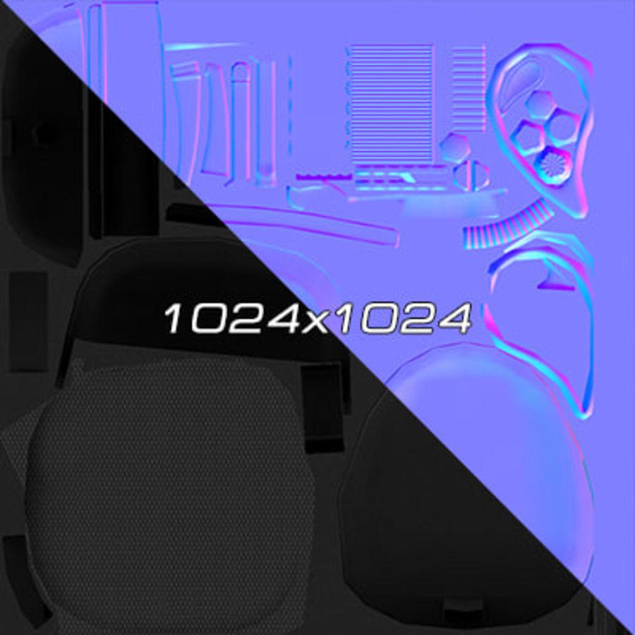 Colección de muebles de oficina royalty-free modelo 3d - Preview no. 9
