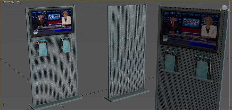 Colección de muebles de oficina royalty-free modelo 3d - Preview no. 66