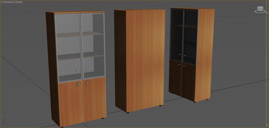 Colección de muebles de oficina royalty-free modelo 3d - Preview no. 13