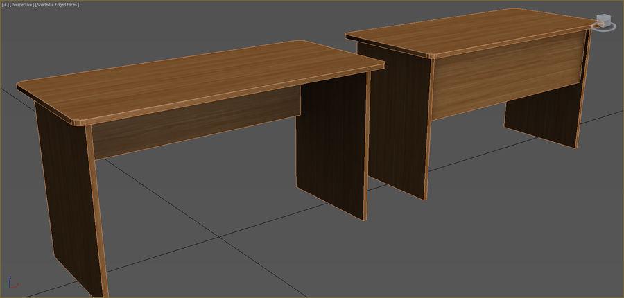 Colección de muebles de oficina royalty-free modelo 3d - Preview no. 100