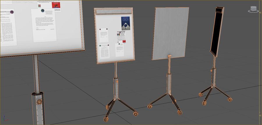 Colección de muebles de oficina royalty-free modelo 3d - Preview no. 64