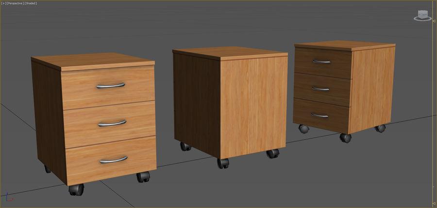 Colección de muebles de oficina royalty-free modelo 3d - Preview no. 57