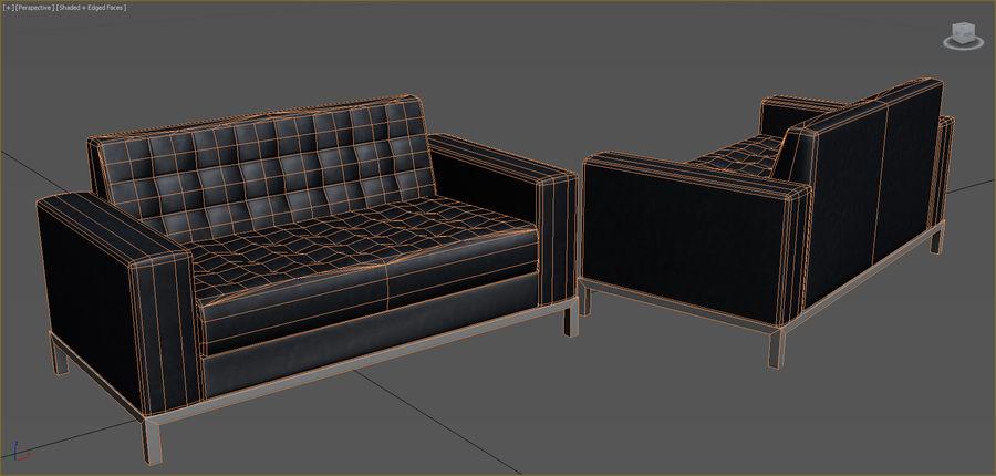 Colección de muebles de oficina royalty-free modelo 3d - Preview no. 79