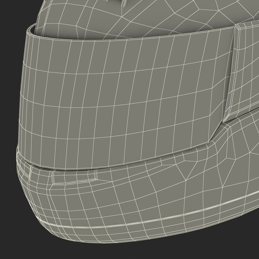 Motorcycle Helmet royalty-free 3d model - Preview no. 30