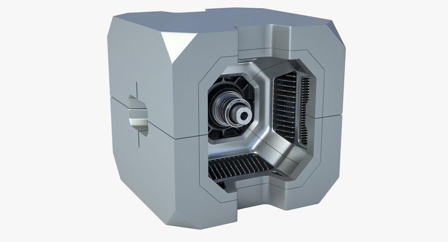 Sci Fi Box royalty-free 3d model - Preview no. 2