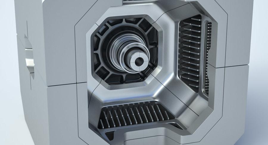 Sci Fi Box royalty-free 3d model - Preview no. 4