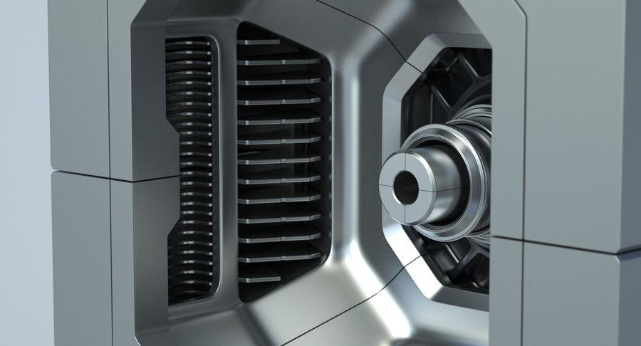 Sci Fi Box royalty-free 3d model - Preview no. 12