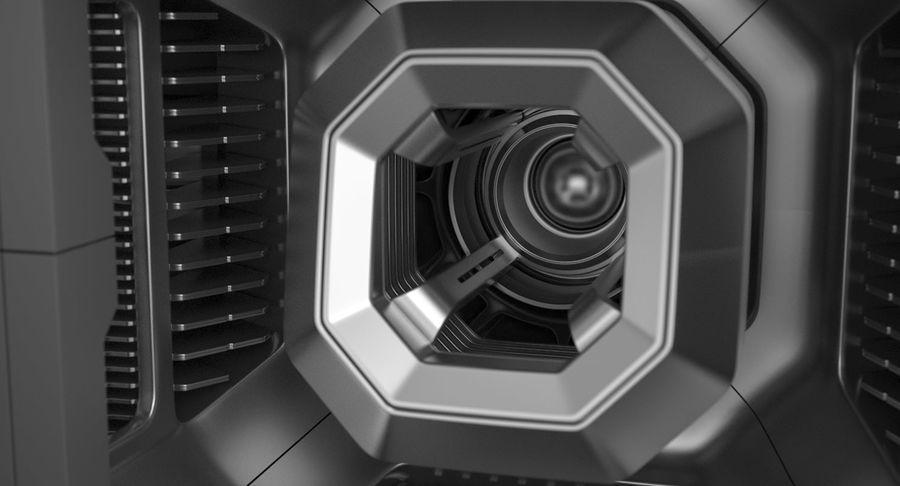 Sci Fi Box royalty-free 3d model - Preview no. 9