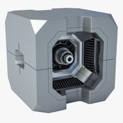 과학 Fi 박스 3d model