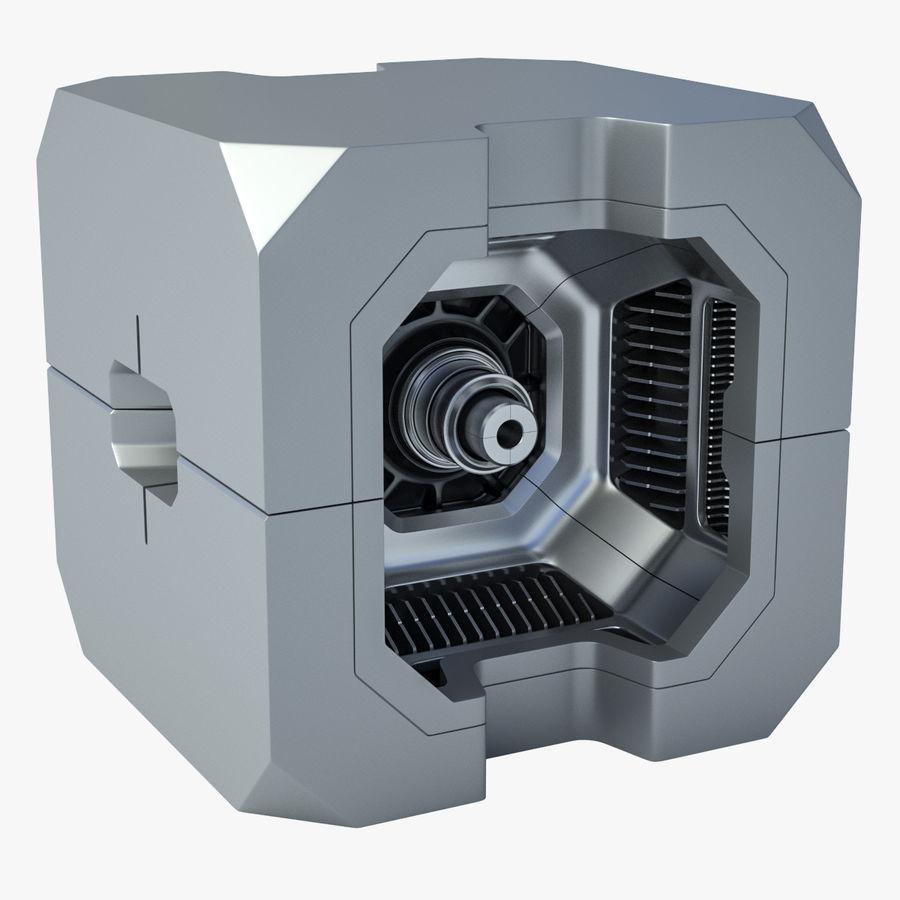 Sci Fi Box royalty-free 3d model - Preview no. 1