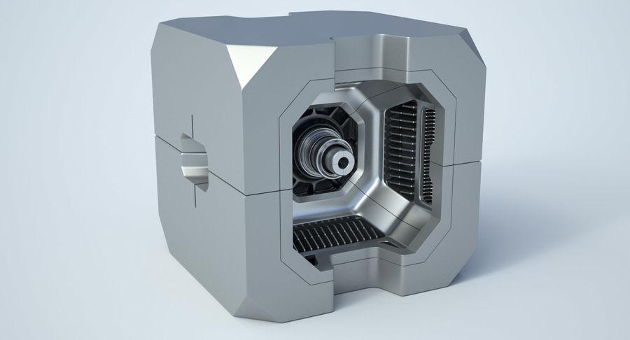 Sci Fi Box royalty-free 3d model - Preview no. 3
