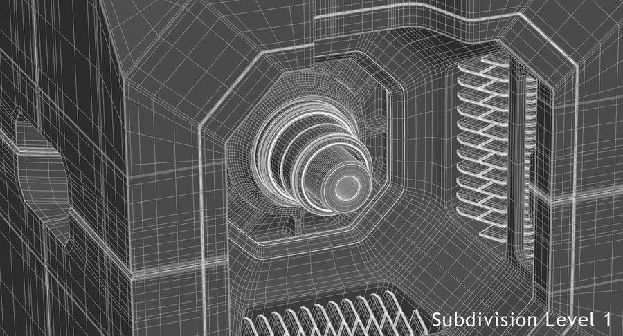 Sci Fi Box royalty-free 3d model - Preview no. 15