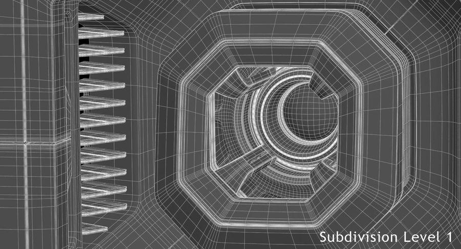 Sci Fi Box royalty-free 3d model - Preview no. 17