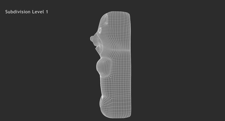 Gummy Bear royalty-free 3d model - Preview no. 19