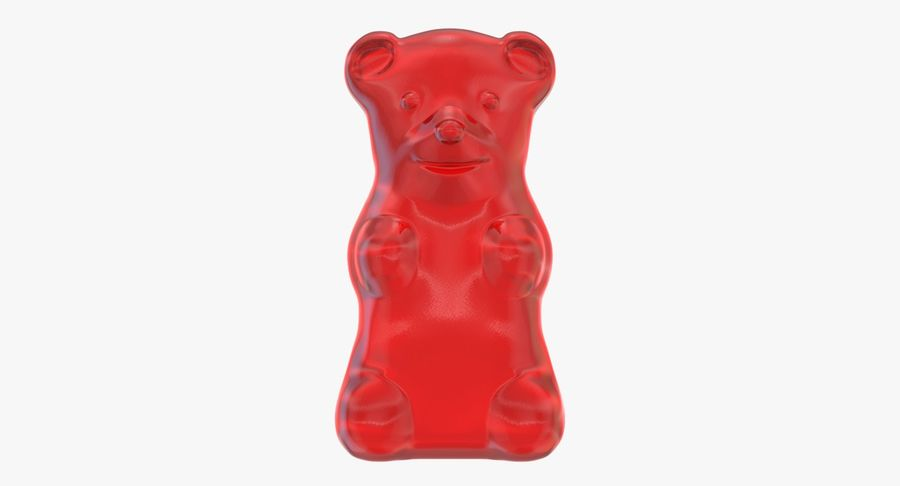Gummy Bear royalty-free 3d model - Preview no. 5