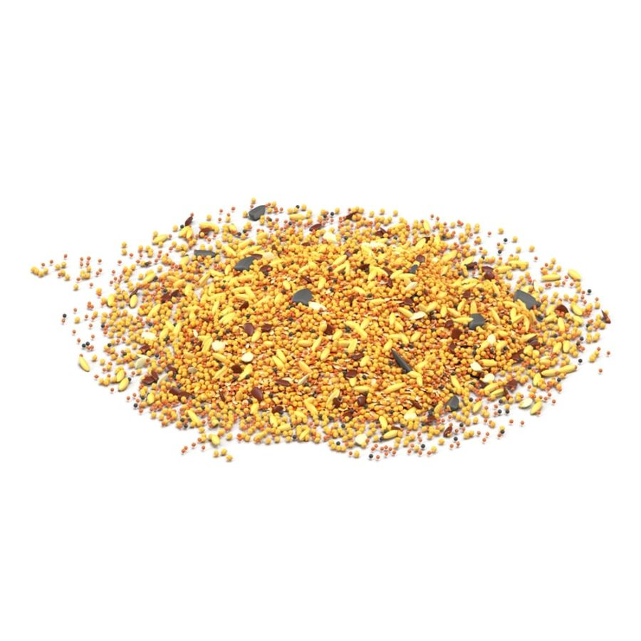 Wild Bird Food royalty-free 3d model - Preview no. 2