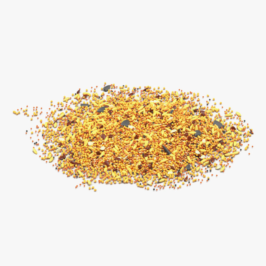 Wild Bird Food royalty-free 3d model - Preview no. 1