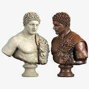 Busto de Hércules 3d model