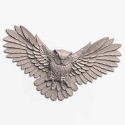 Owl relief for CNC 3d model