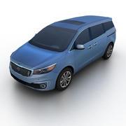 Kia Sedona 2015 3d model