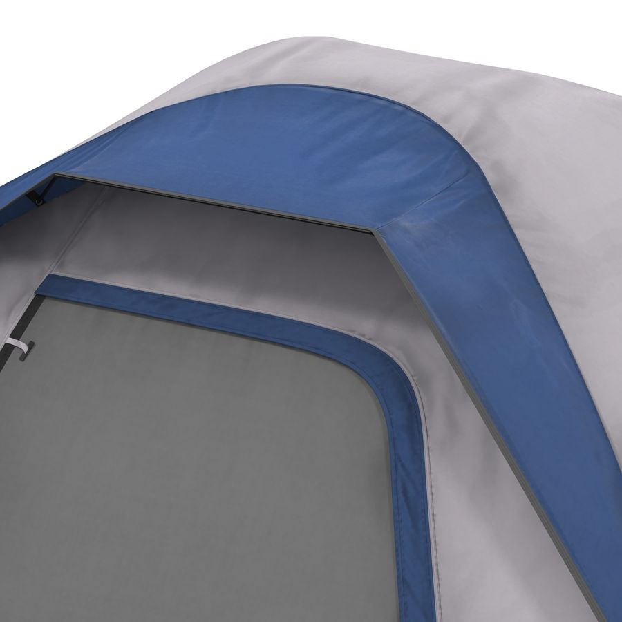 Camping Tent Blue royalty-free 3d model - Preview no. 18
