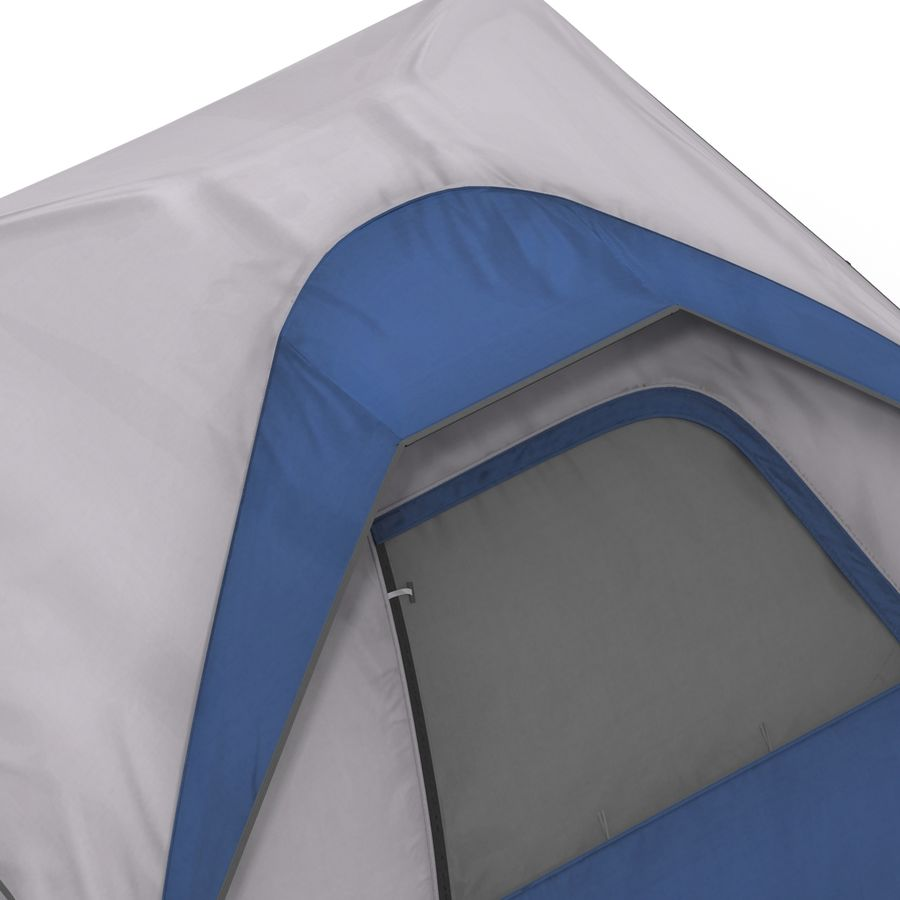Camping Tent Blue royalty-free 3d model - Preview no. 13