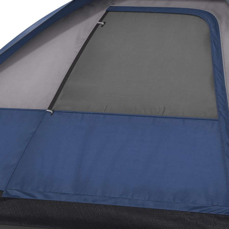 Camping Tent Blue royalty-free 3d model - Preview no. 14