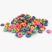 Cheerios Fruit Pile 3d model