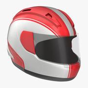 Capacete de motocicleta genérico 3d model