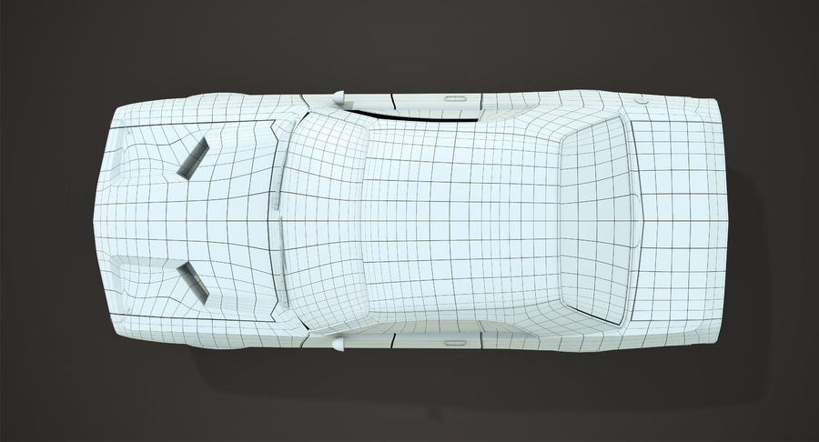 Dodge Challenger royalty-free 3d model - Preview no. 11