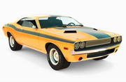 Custom Dodge Challenger 3d model