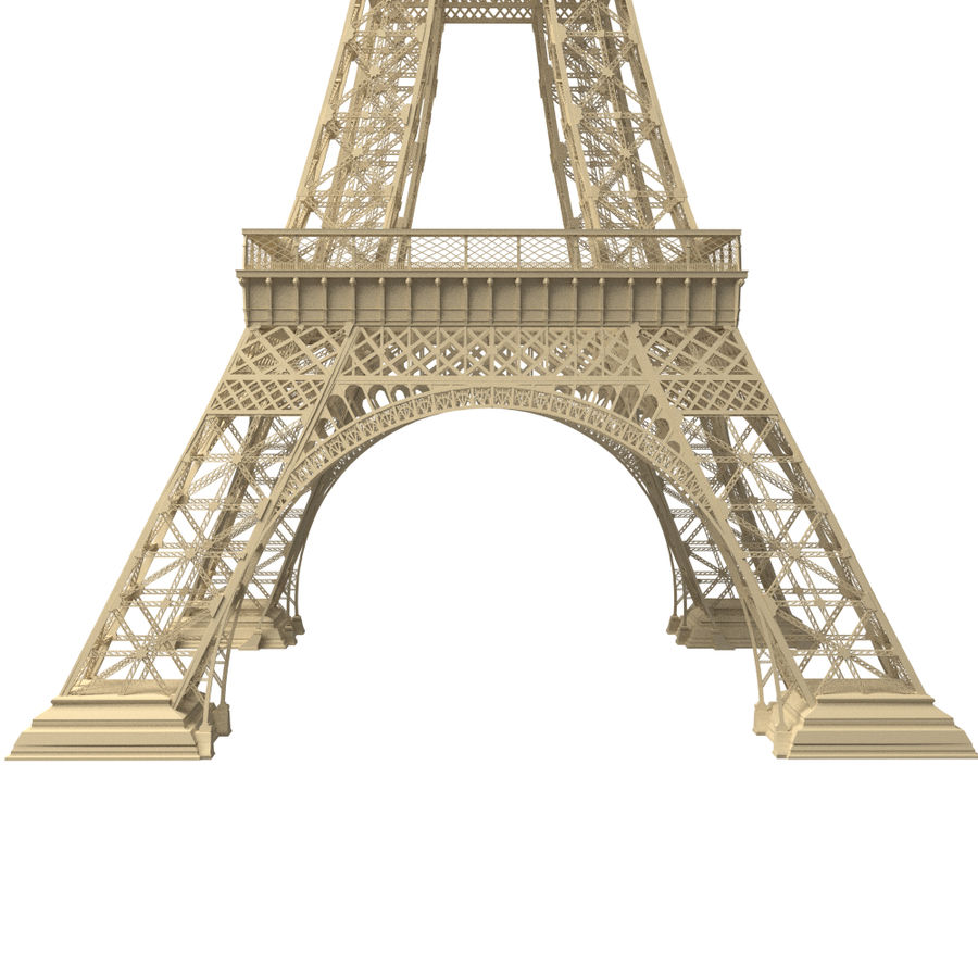 Torre Eiffel royalty-free 3d model - Preview no. 10