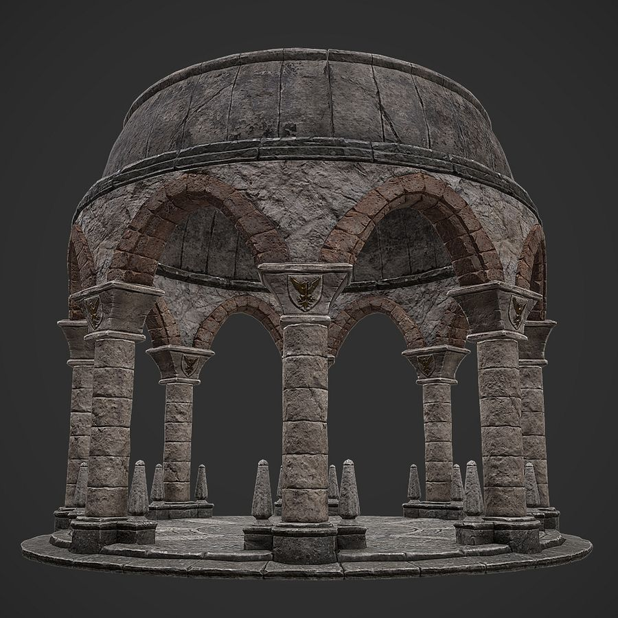 Arena 2 royalty-free 3d model - Preview no. 8