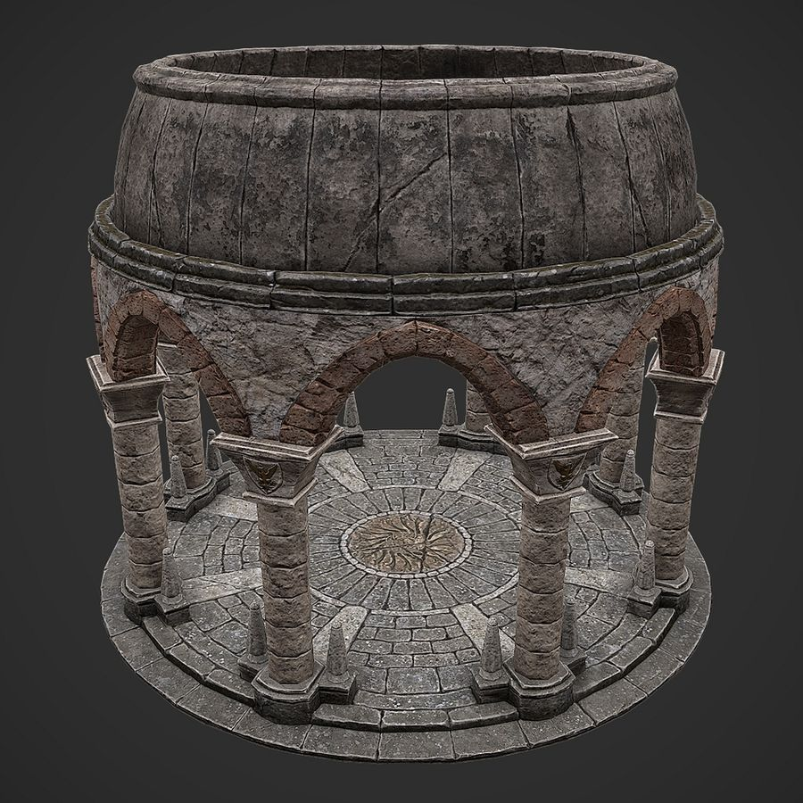 Arena 2 royalty-free 3d model - Preview no. 3
