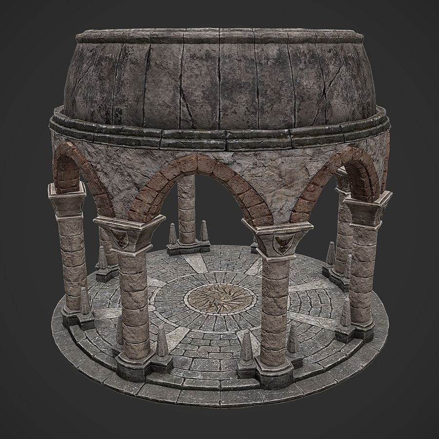 Arena 2 royalty-free 3d model - Preview no. 4