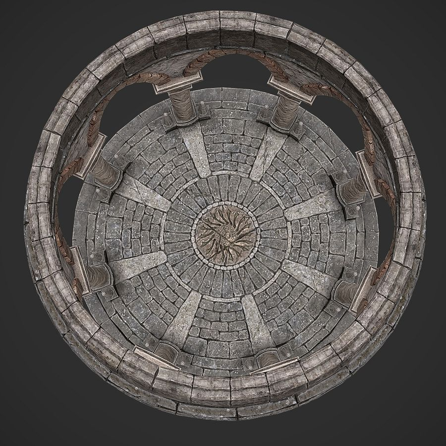 Arena 2 royalty-free 3d model - Preview no. 7